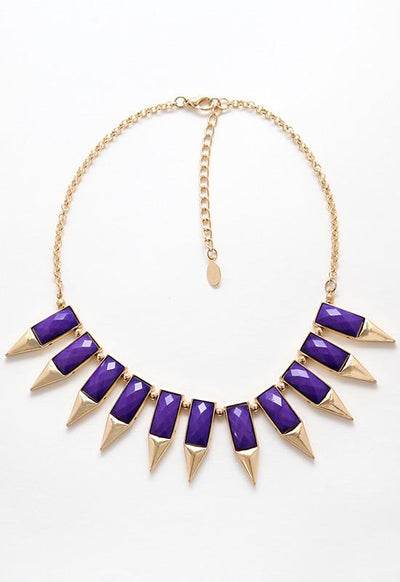 Jewelry - Hidden Gem Necklace - Purple
