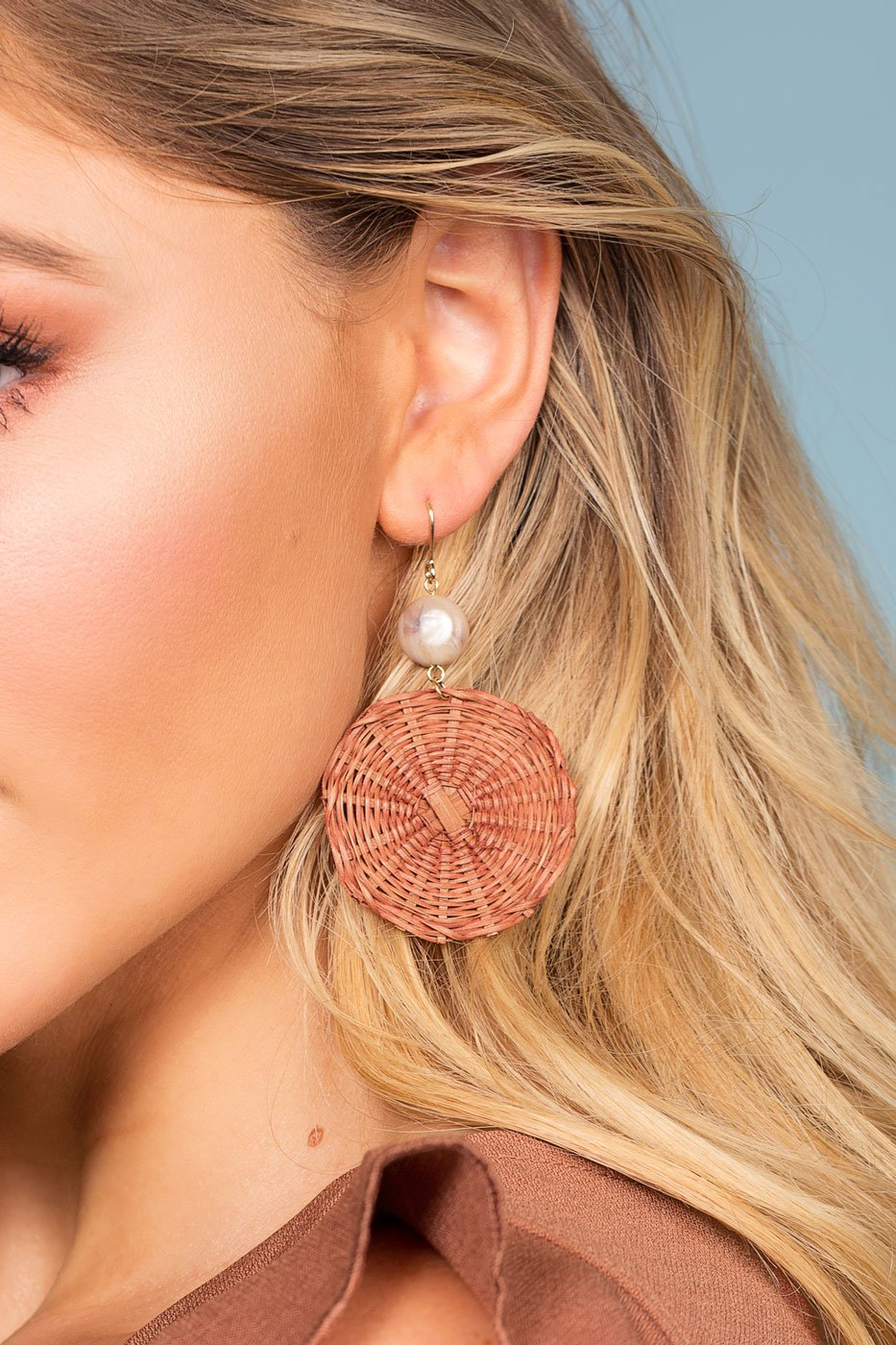Jewelry - Kelli Earrings - Brick