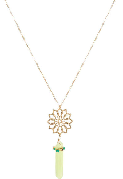 Jewelry - Love Of Mine Necklace In Green