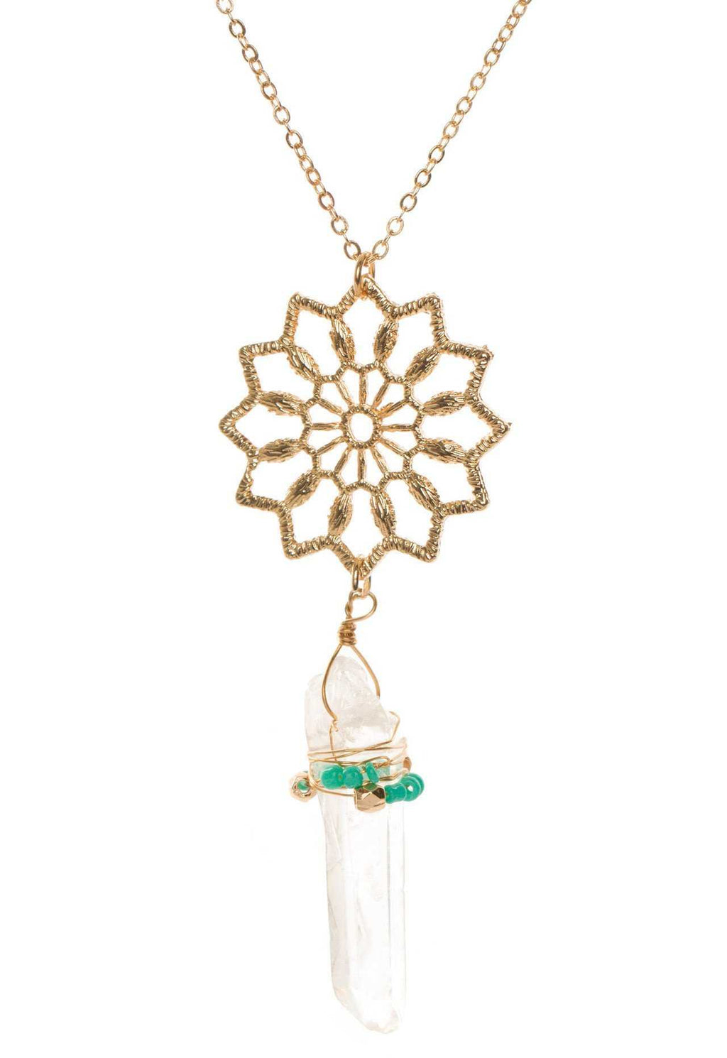Jewelry - Love Of Mine Necklace In Teal