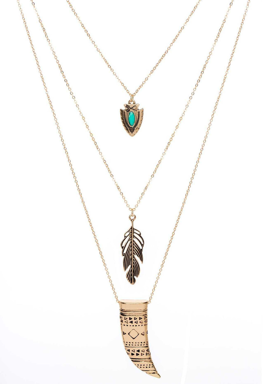 Jewelry - Refined Necklace - Turquoise