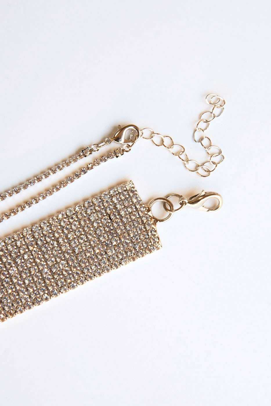 Jewelry - Rise And Shine Choker Set - Gold