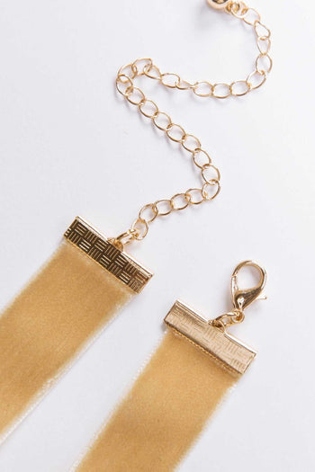Jewelry - Zia Choker Set - Tan