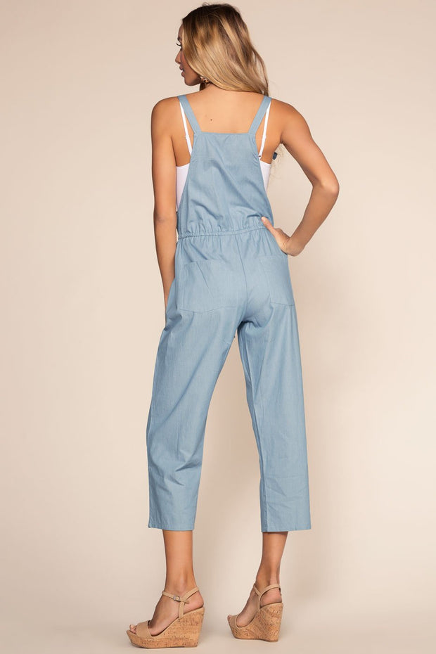 Jumpsuits - Mariette Chambray Culottes