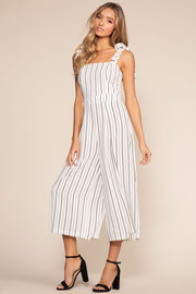 Jumpsuits - Silva Striped Culottes