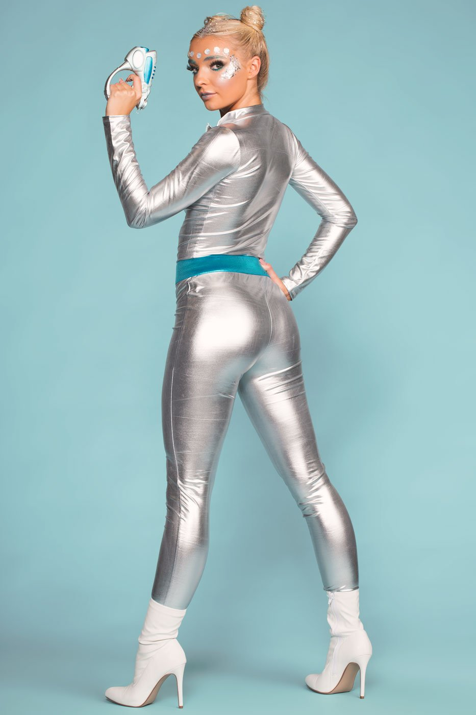Jumpsuits - Space Girl Silver Jumpsuit