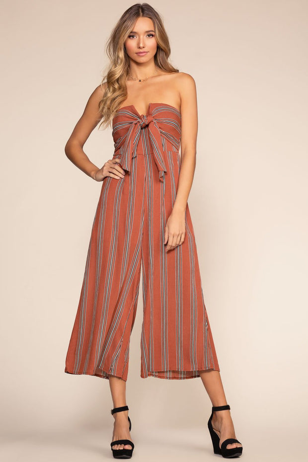 Jumpsuits - Weekend Wishes Culotte Jumpsuit