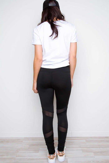 Leggings - Get Ready Mesh Leggings