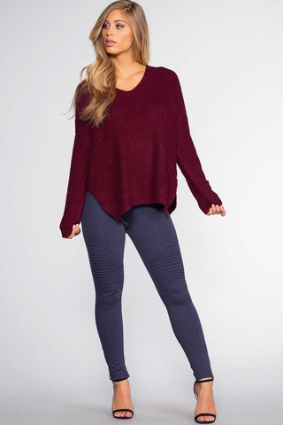 So Simple Black High Waisted Control Leggings