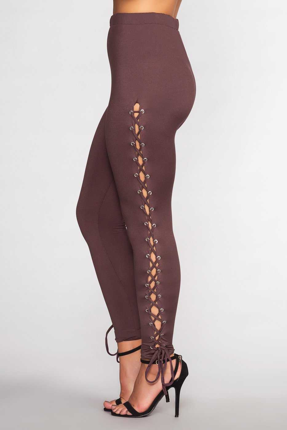 Leggings - Leave No Trace Leggings - Mauve