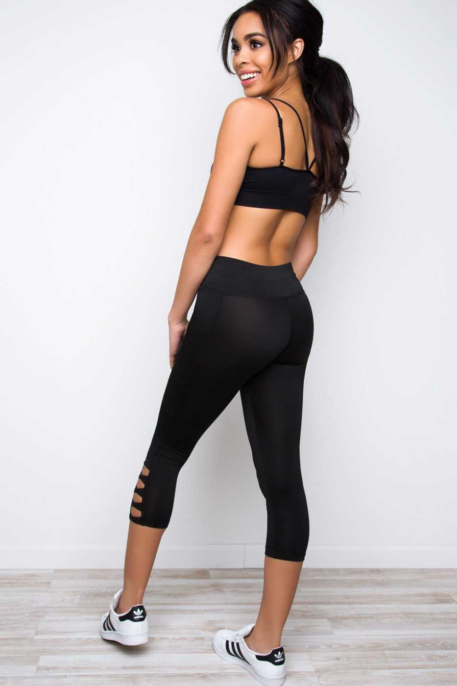 Leggings - Mirror Mirror Leggings - Black