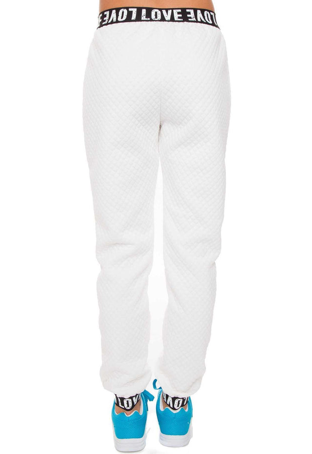Pants - Crazy In Love Pants - White