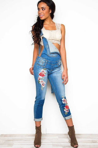 Strike Out Distressed Jeans