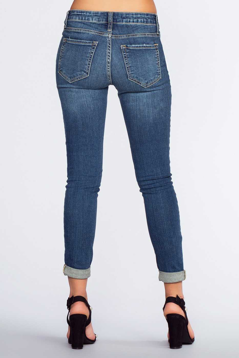 Pants - Harvard Cuffed Jeans
