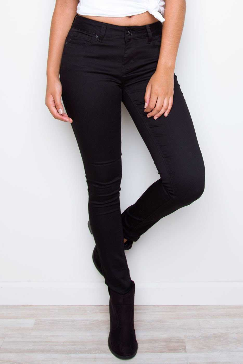 Pants - Insider Skinny Lifter Jeans - Black