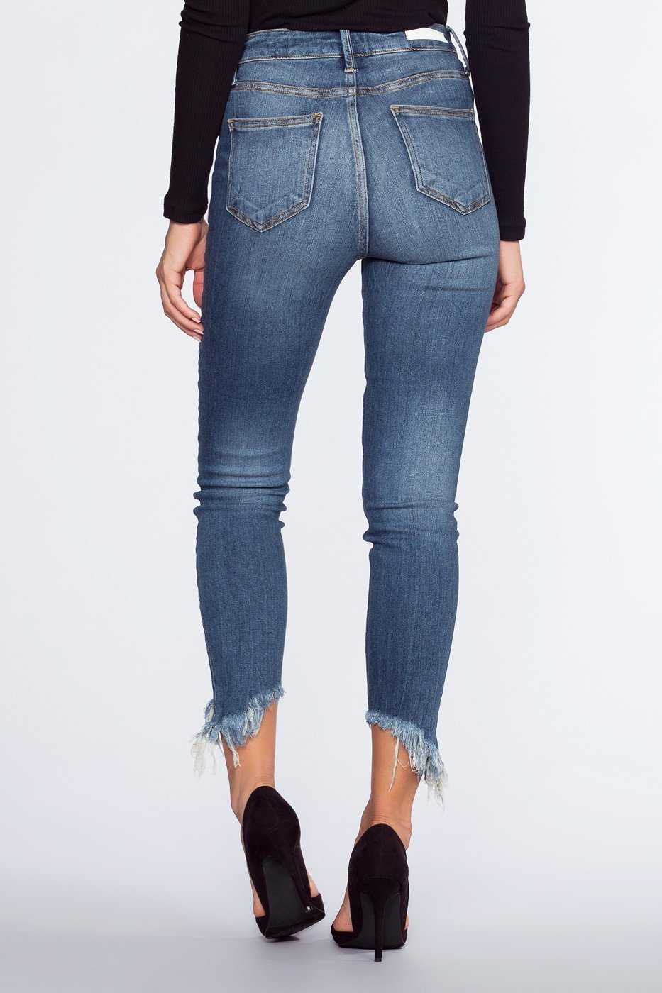 Pants - Kensington Frayed Jeans