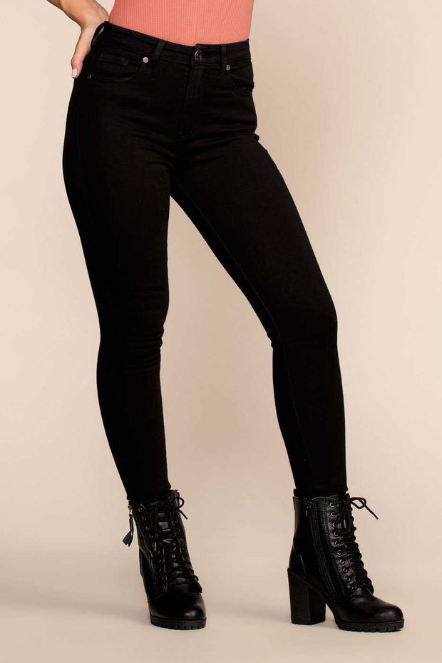 Pants - Let You Go High Waisted Jeans - Black