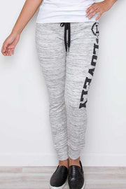 Graphic Print Yoga Pants