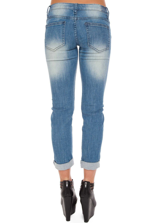 Pants - Mally Distressed Jeans