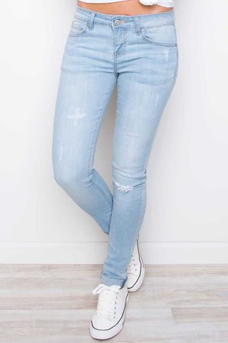 New Beginnings White Skinny Jeans