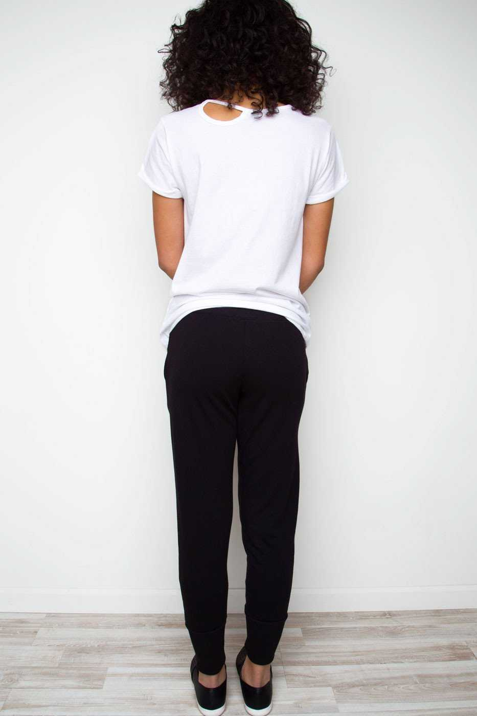 Pants - Next To You Joggers - Black
