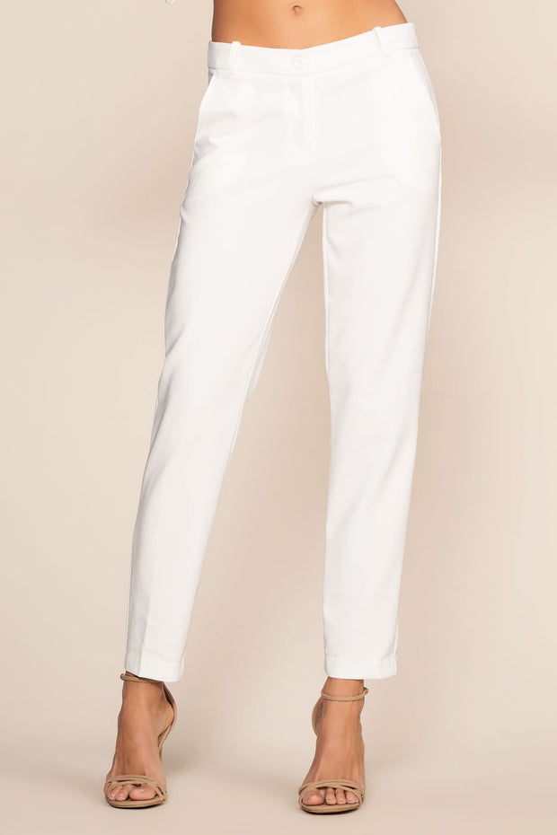 Pants - Now Or Never Pants - White