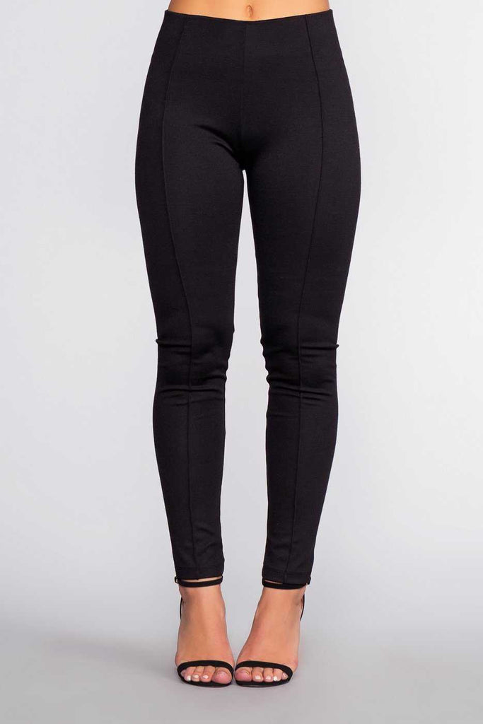 Pants - Sadie Ponte Pants - Black