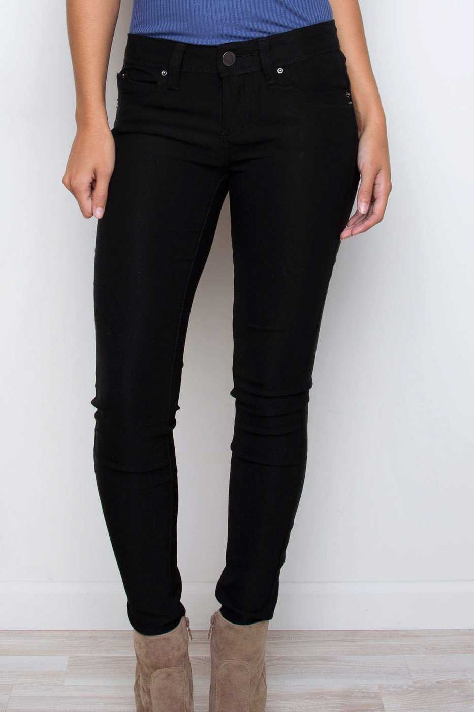 Pants - Set Free Skinny Jeans - Black