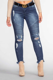 Pants - Street Chic Moto Jeans