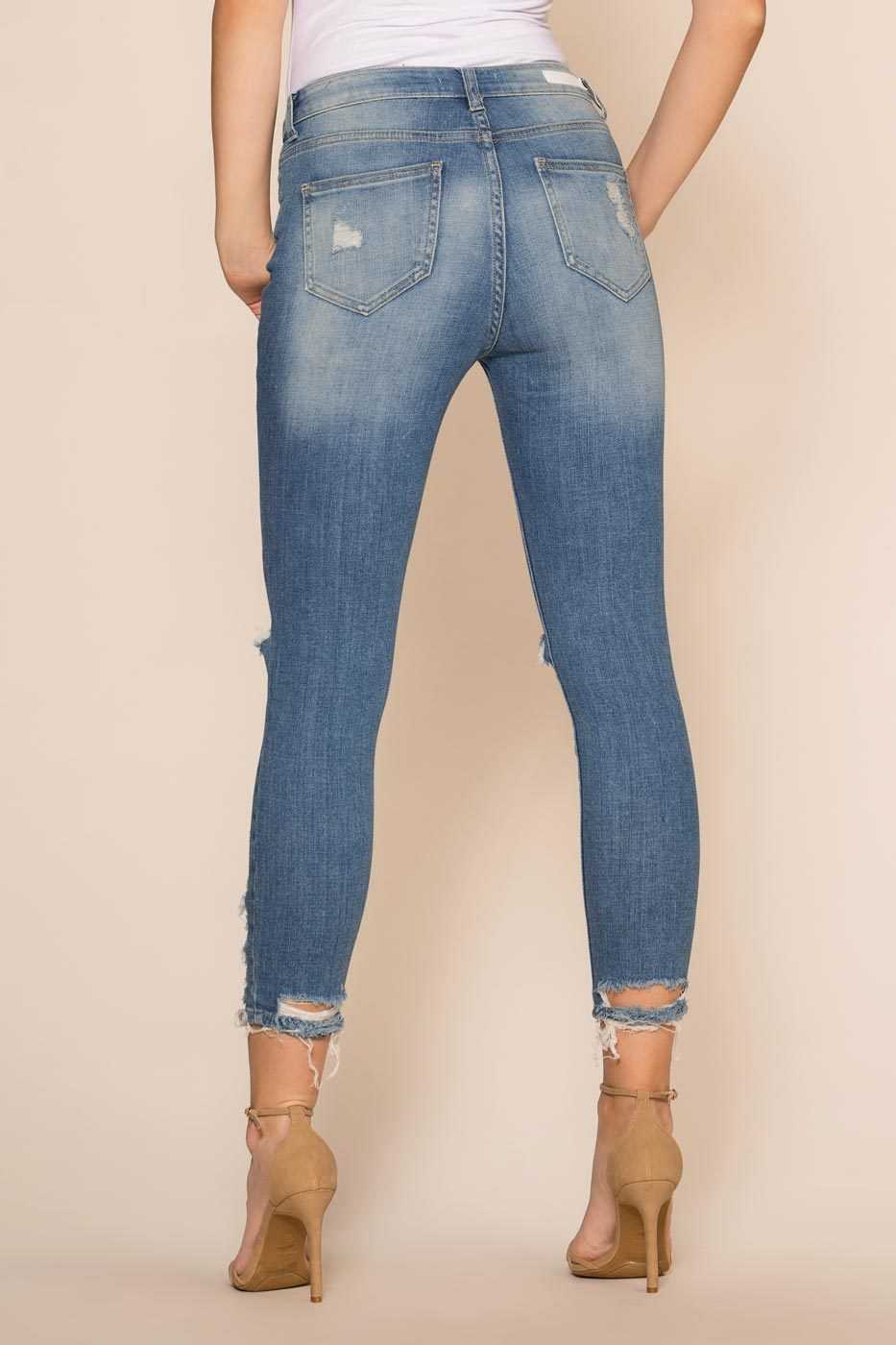 Pants - Tessie Distressed Jeans