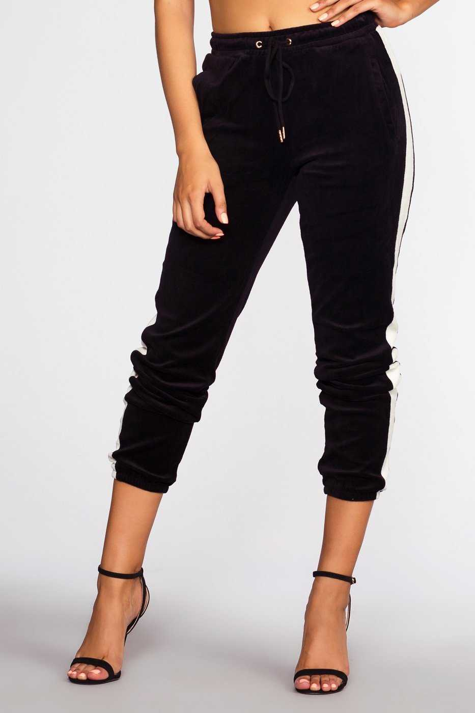 Pants - Track It Joggers - Black