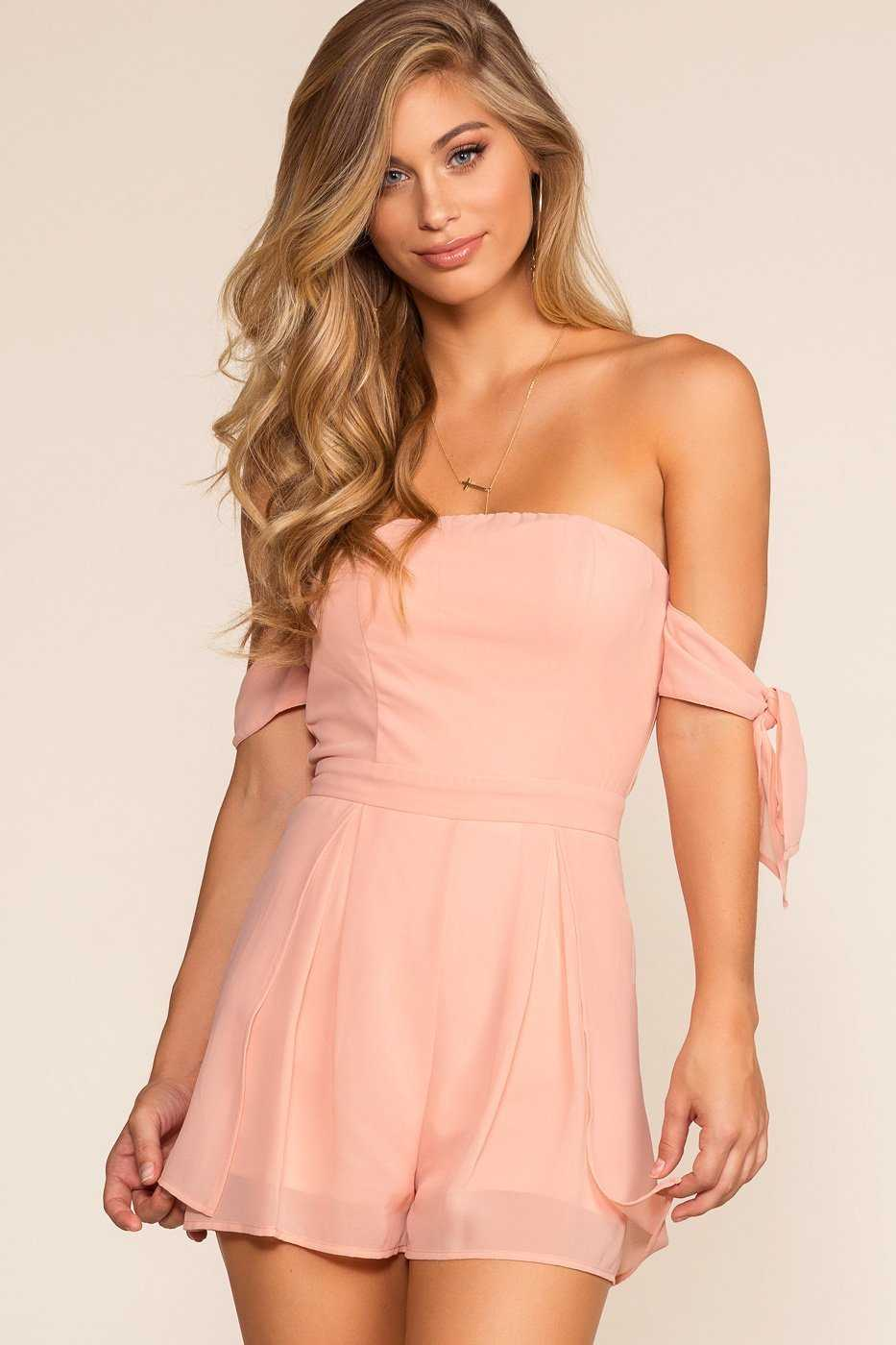 Rompers - Anna Romper - Blush
