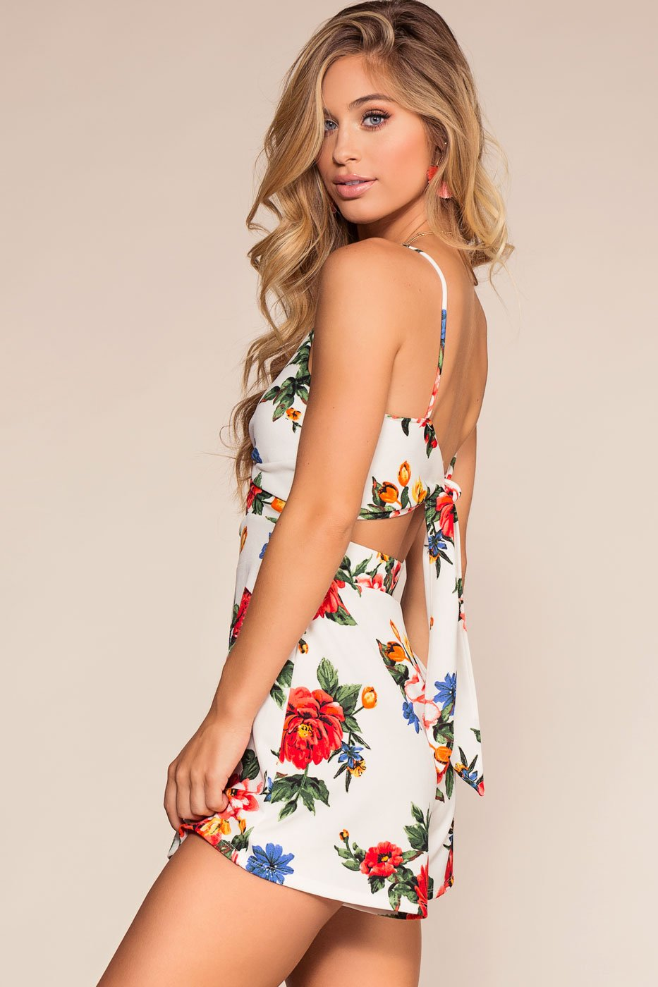 Rompers - Blossoms Away Romper