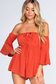 Rompers - Brick House Romper