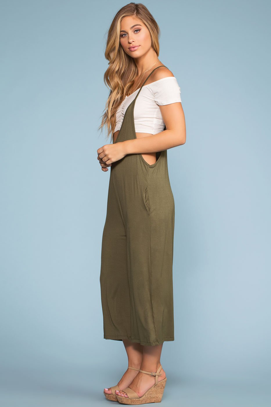 dded42ad1f1 ... Rompers - Day Driftin  Romper - Olive ...