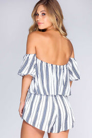Rompers - Feel This Way Stripe Romper