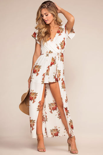Rompers - Garden With A View Floral Romper