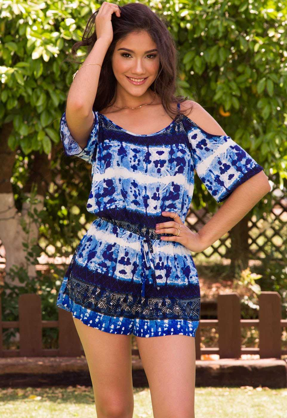 Rompers - Keep Your Cool Tie-Dye Romper