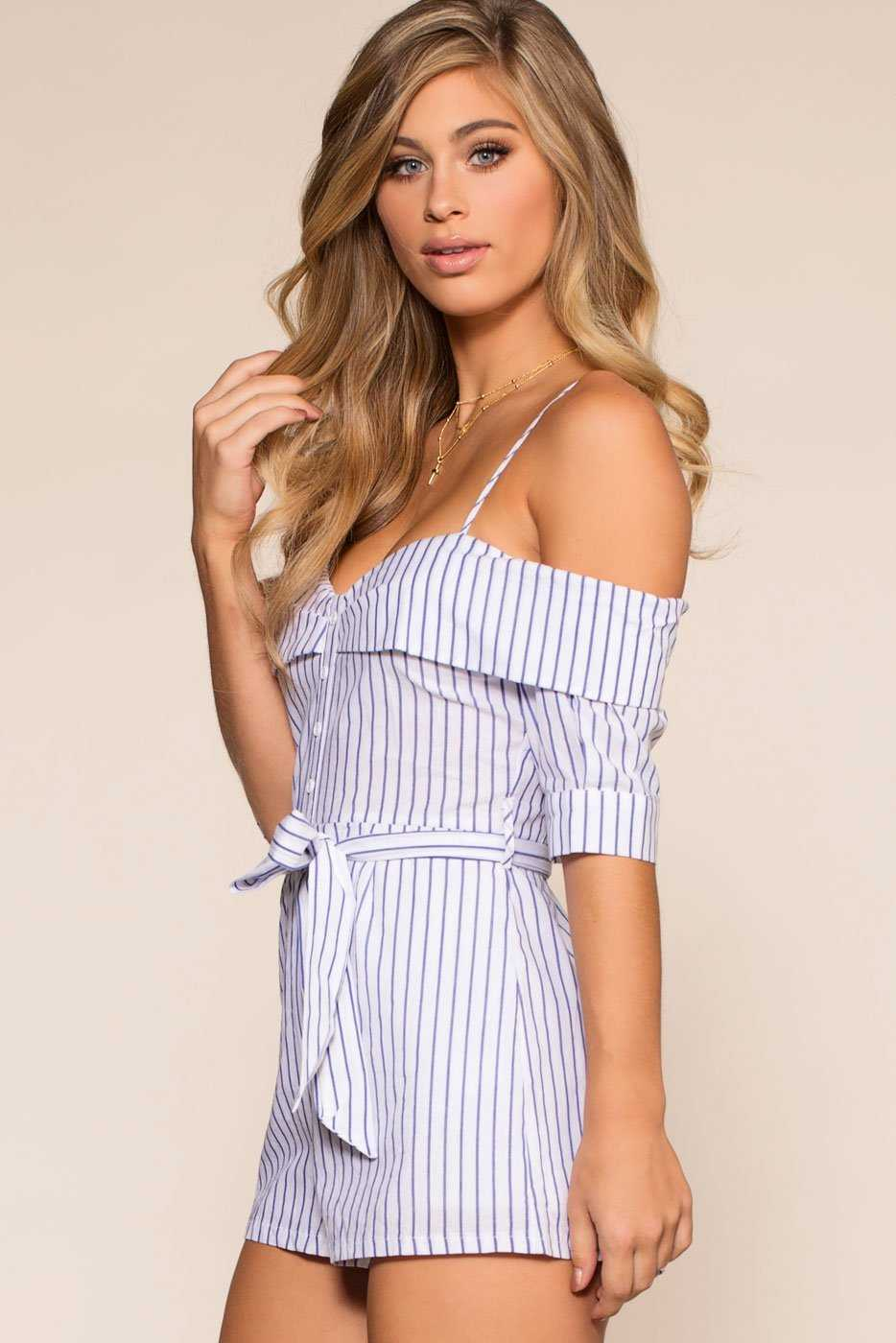 Rompers - Little Miss Sunshine Romper - White