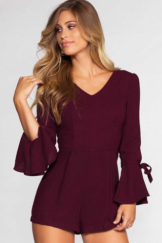 Catching Leaves Swing Pocket Dress - Purple