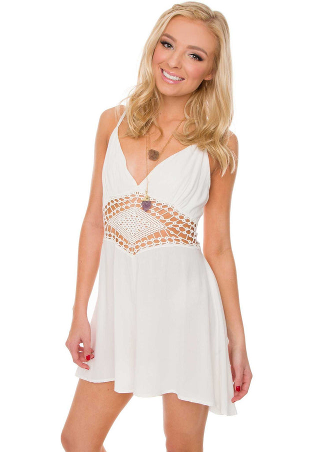 Rompers - Summertime Romper - White
