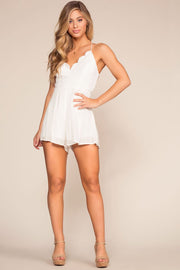 Rompers - Sweet Yuma Romper - White