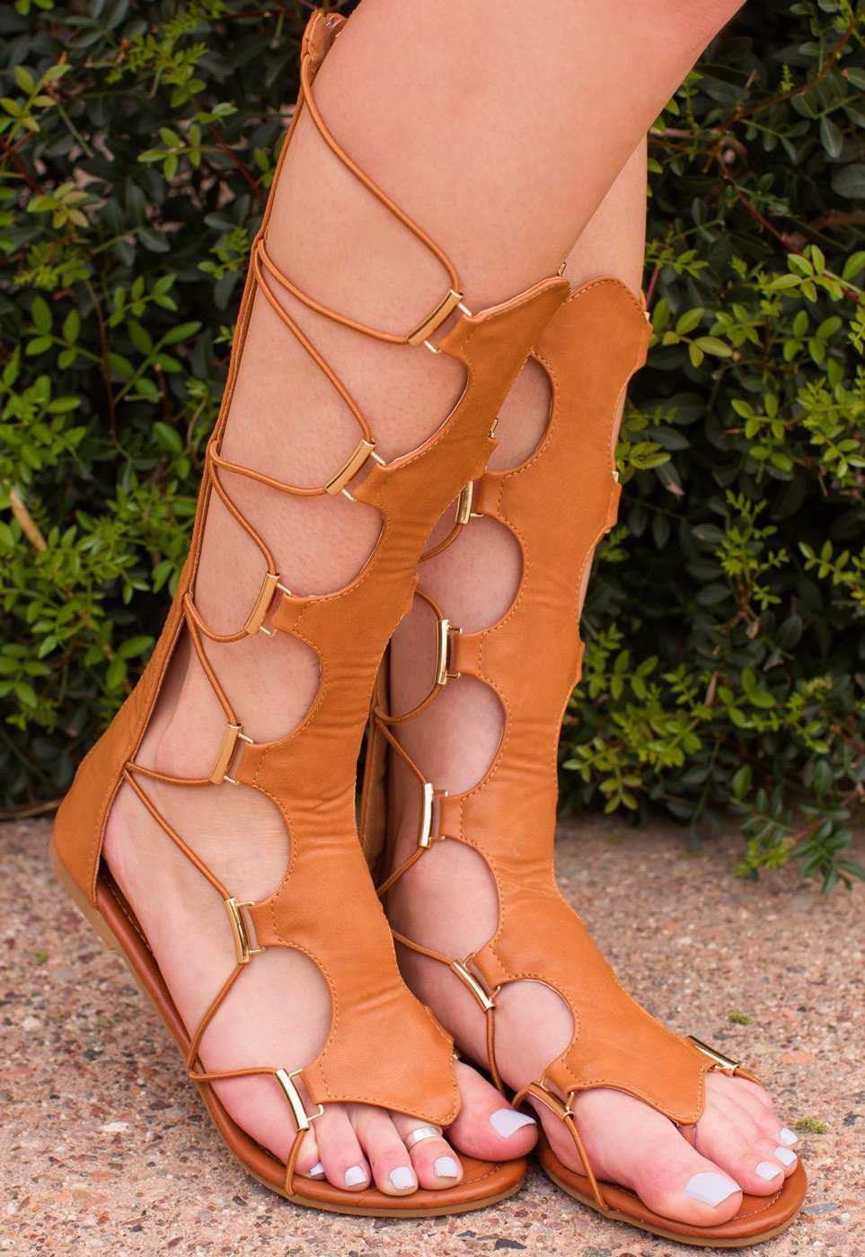 Top Girl Gladiator Sandals by Priceless