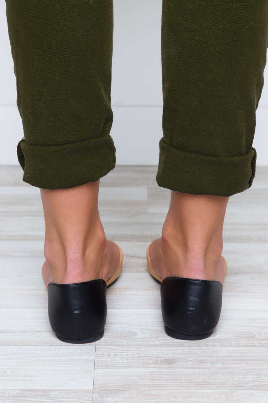 Shoes - All That Flats - Black/Nude