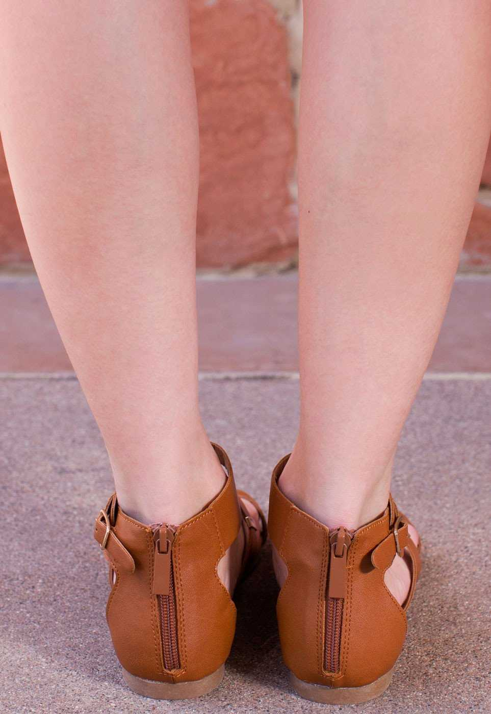 Shoes - Anna Sun Gladiator Sandals In Tan