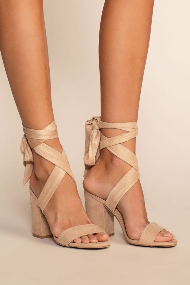 Shoes - Avila Heels - Natural