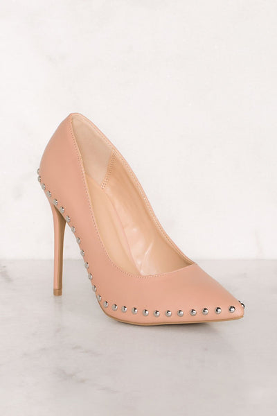 Shoes - Clarisse Studded Heels