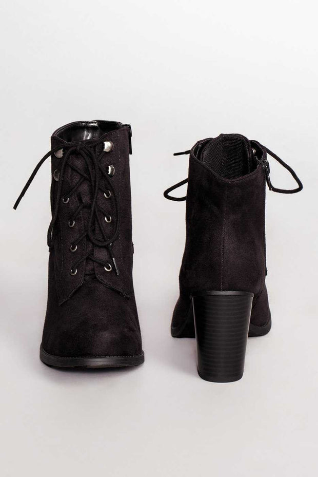 Shoes - Cloud Nine Booties - Black