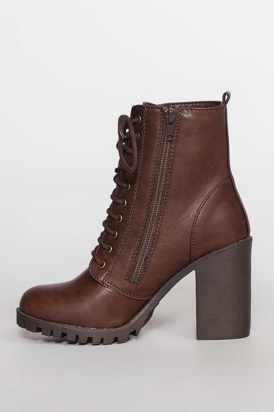 Shoes - Edge Of Life Boots - Chocolate