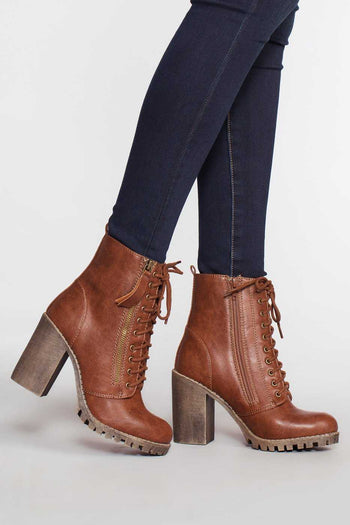 Shoes - Edge Of Life Boots - Tan